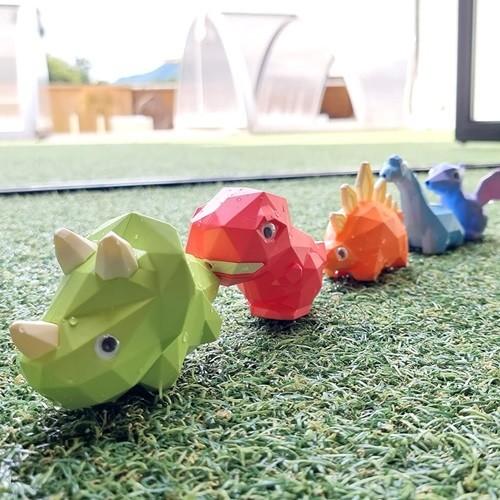 키저스 리틀 다이노 워터건 공룡 피규어 세트 아기 유아 목욕놀이 물놀이 장난감