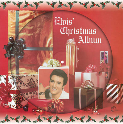 Elvis Presley (엘비스 프레슬리) - Elvis' Christmas Album [픽쳐디스크 LP]