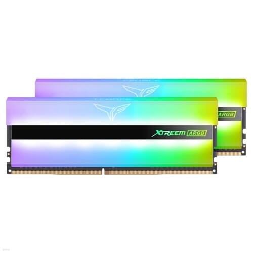 T-Force DDR4-3600 CL18 XTREEM ARGB화이트 64G(32x2)