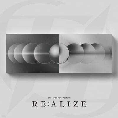 티오원 (TO1) - 미니앨범 2집 : RE:ALIZE [LIE 또는 REAL ver. 1종 랜덤 발송]