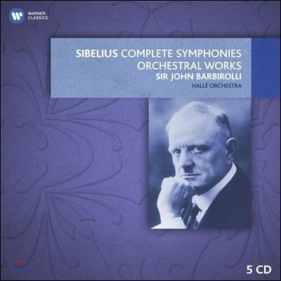 John Barbirolli 시벨리우스 : 교향곡 전곡, 교향시 (Sibelius: The Complete Symphonies & Tone Poems) 존 바비롤리