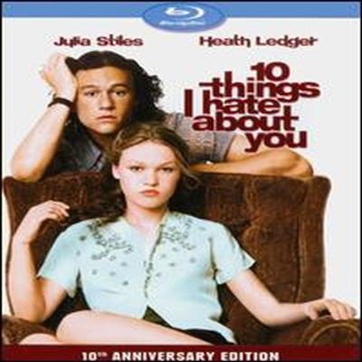 10 Things I Hate About You (내가 널 사랑할 수 없는 10가지 이유) (10th Anniversary Edition) (한글무자막)(Blu-ray) (1999)
