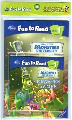Disney Fun to Read Set 1-24 / Monster Games [몬스터 대학교]