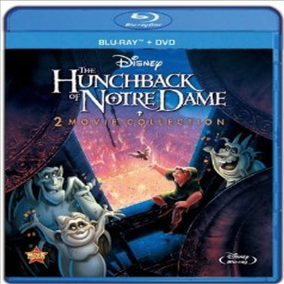 The Hunchback of Notre Dame / The Hunchback of Notre Dame II (노틀담의 꼽추) (3-Disc Special Edition) (한글무자막)(Blu-ray / DVD) (2013)