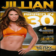 Jillian Michaels Ripped in 30 (��� ����Ŭ�� ��Ʈ �� 30) (�����ڵ�1)(�ѱ۹��ڸ�)(DVD)