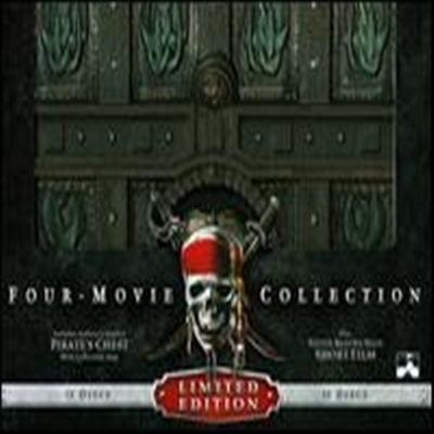 Pirates of the Caribbean Four-Movie Collection (캐리비안의 해적) (한글무자막)(Blu-ray + Digital Copy) (2011)