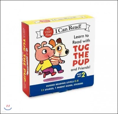 Learn to Read With Tug the Pup and Friends! Set 2