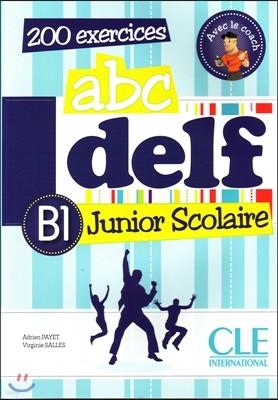 ABC Delf Junior Scolaire B1 (+DVD-Rom, Corriges)