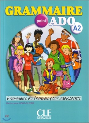 Grammaire point Ado A2 (+Corriges, CD)