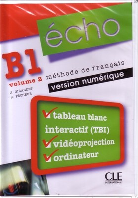 Echo B1 Volume 2. Version numerique (1DVD-Rom)