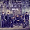 ��Ű�� (U-Kiss) - Fall In Love / Shape Of Your Heart (Jacket B ��ȸ������)