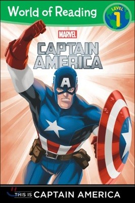 World of Reading Level 1 : This Is Captain America