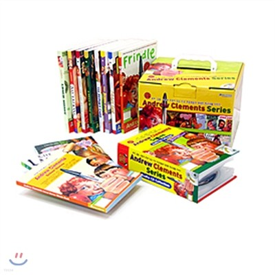 Andrew Clements의 School Stories 시리즈 10종 직수입도서(오디오10종,단어장증정)