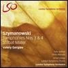 Valery Gergiev 시마노프스키 : 교향곡 3번 '밤의 노래' & 4번, 스타바트 마테르 (Szymanowski: Symphonies Nos 3 & 4 & Stabat Mater)