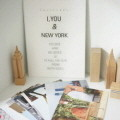 I You & New York Post card set