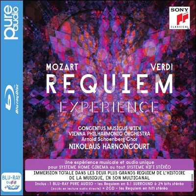 Nikolaus Harnoncourt 모차르트 / 베르디 : 레퀴엠 (Mozart / Verdi: Requiem) [블루레이 오디오 CD + 2CD 한정반]