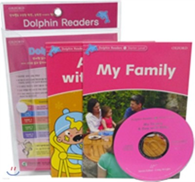 Dolphin Reader Level Starter-2 Set : My Family & A Day with Baby