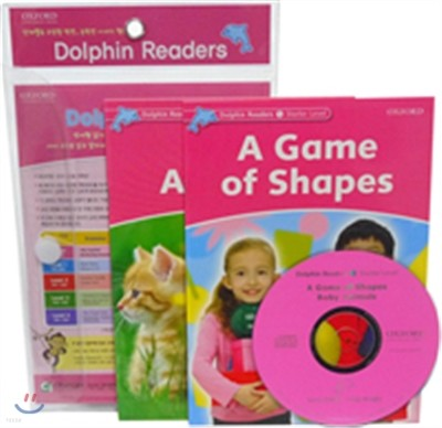 Dolphin Reader Level Starter-4 Set : A Game of Shapes & BActivity Booky Animals