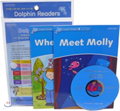 Dolphin Reader Level 1-1 Set : Meet Molly & Where Is It?
