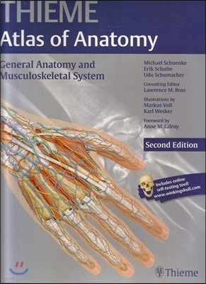 General Anatomy and Musculoskeletal System (Thieme Atlas of Anatomy), Second Edition