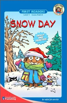Little Critter First Readers Level 1 : Snow Day