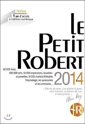 Petit Robert De La Langue Francaise Grand Format - 2014