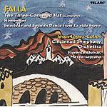 Jesus Lopez-Cobos / 파야 : 삼각모자 (Falla : The Three Cornered Hat) (수입/CD80149)