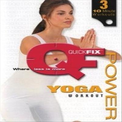 Quick Fix: Power Yoga Workout (퀵 픽스 : 파워 요가 워크아웃) (DVD)