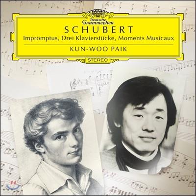백건우 - 슈베르트: 즉흥곡, 클라비어 소품집, 악흥의 순간 (Schubert : Impromptus, Drei Klavierstucke, Moments Musicaux)