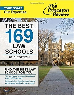 Princeton Review the Best 169 Law Schools 2015