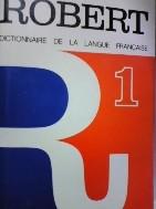 PETIT ROBERT 1--DICTIONNAIRE DE LA  LANGUE FRANCAISE