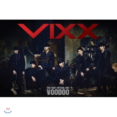 빅스 (VIXX) The First Special DVD : Voodoo