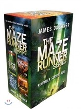 The Maze Runner Series Box Set