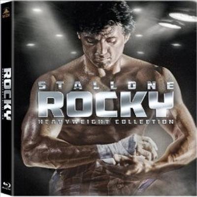 Rocky Heavyweight Collection (록키 헤비웨이트 컬렉션) (한글무자막)(Blu-ray)