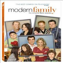 Modern Family: The Complete First Season (모던 패밀리: 컴플리트 시즌 1) (지역코드1)(한글무자막)(4DVD Boxset) (2009)