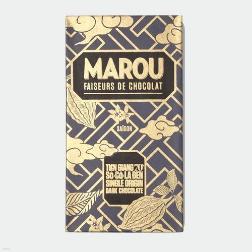 마루 다크 초콜릿 - 띠엔장 70%