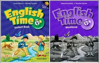 English Time 4 SET : Student Book with CD + Workbook