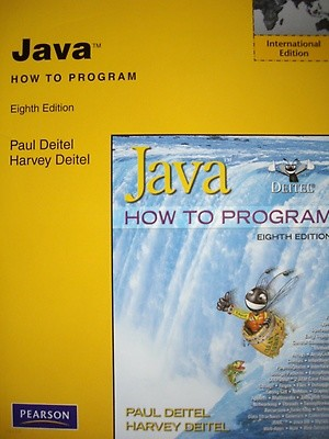 Java How to Program (Paperback/8th Ed.)