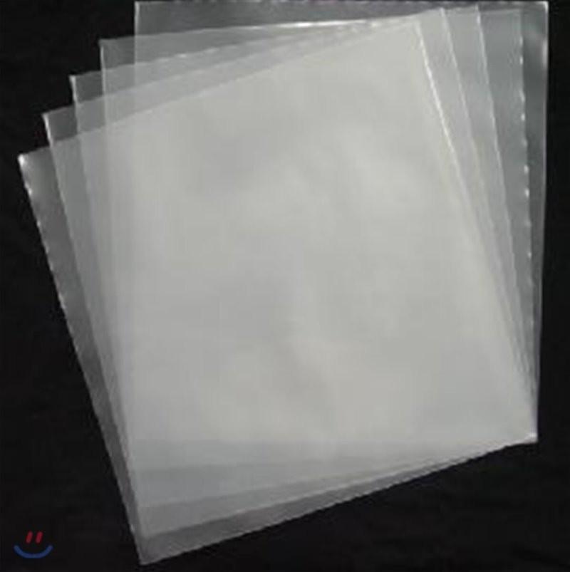 12인치 LP 커버 보호용 무독성 PE 비닐 (10장 묶음)