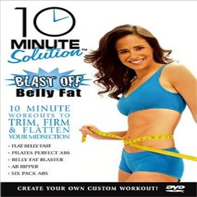 10 Minute Solution: Blast Off Belly Fat (블라스트 오프 벨리 팻) (지역코드1)(한글무자막)(DVD)