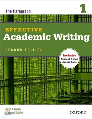 Effective Academic Writing 2/E 1