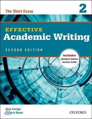 Effective Academic Writing 2/E 2