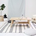 원목 접이식 좌식 테이블
