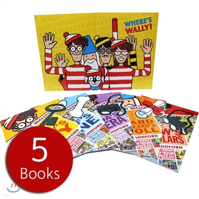Where's Wally? The search for the Lost things Five book - 액티비티세트