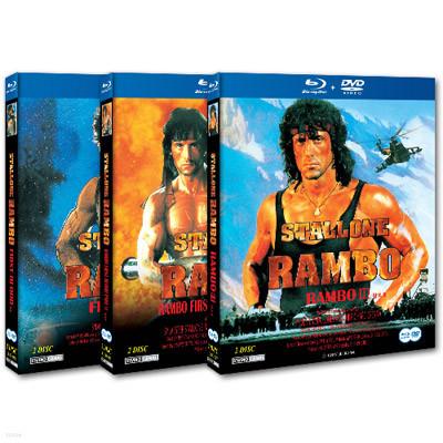 람보1,2,3 SE 트릴로지 : 블루레이 (DVD+BD)
