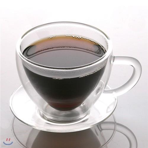 [adico] 이중 유리 커피잔 세트 - CU150