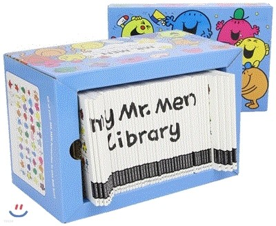 EQ의 천재들 원서 47권 세트 : Mr. Men 47 Books Boxed set : My Complete Collection