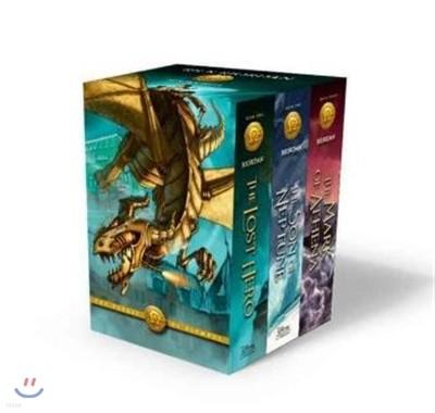 The Heroes of Olympus 1-3 Set