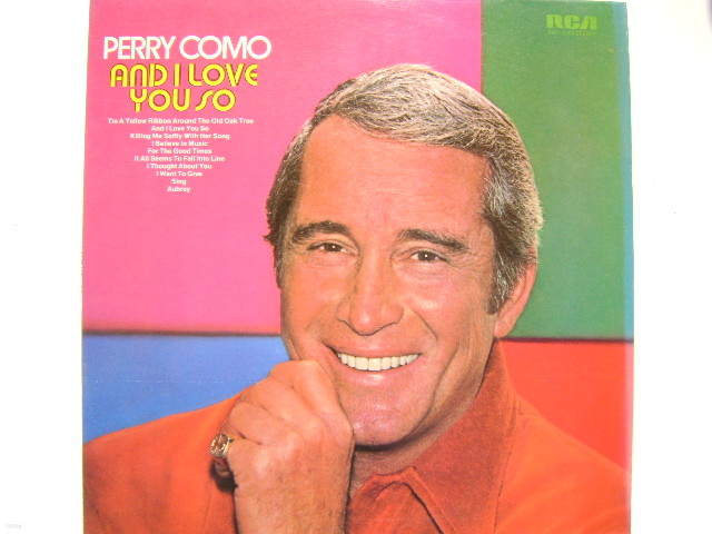 LP(엘피 레코드) 페리 코모 Perry Como : And I Love You So
