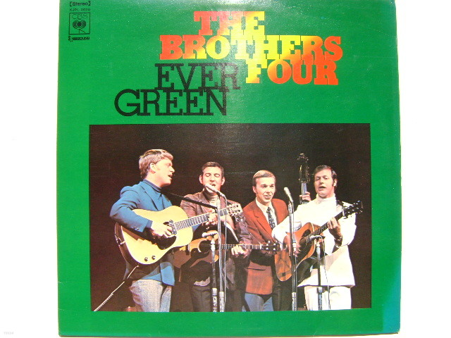 LP(엘피 레코드) 브라더스 훠 Brothers Four : Ever Green